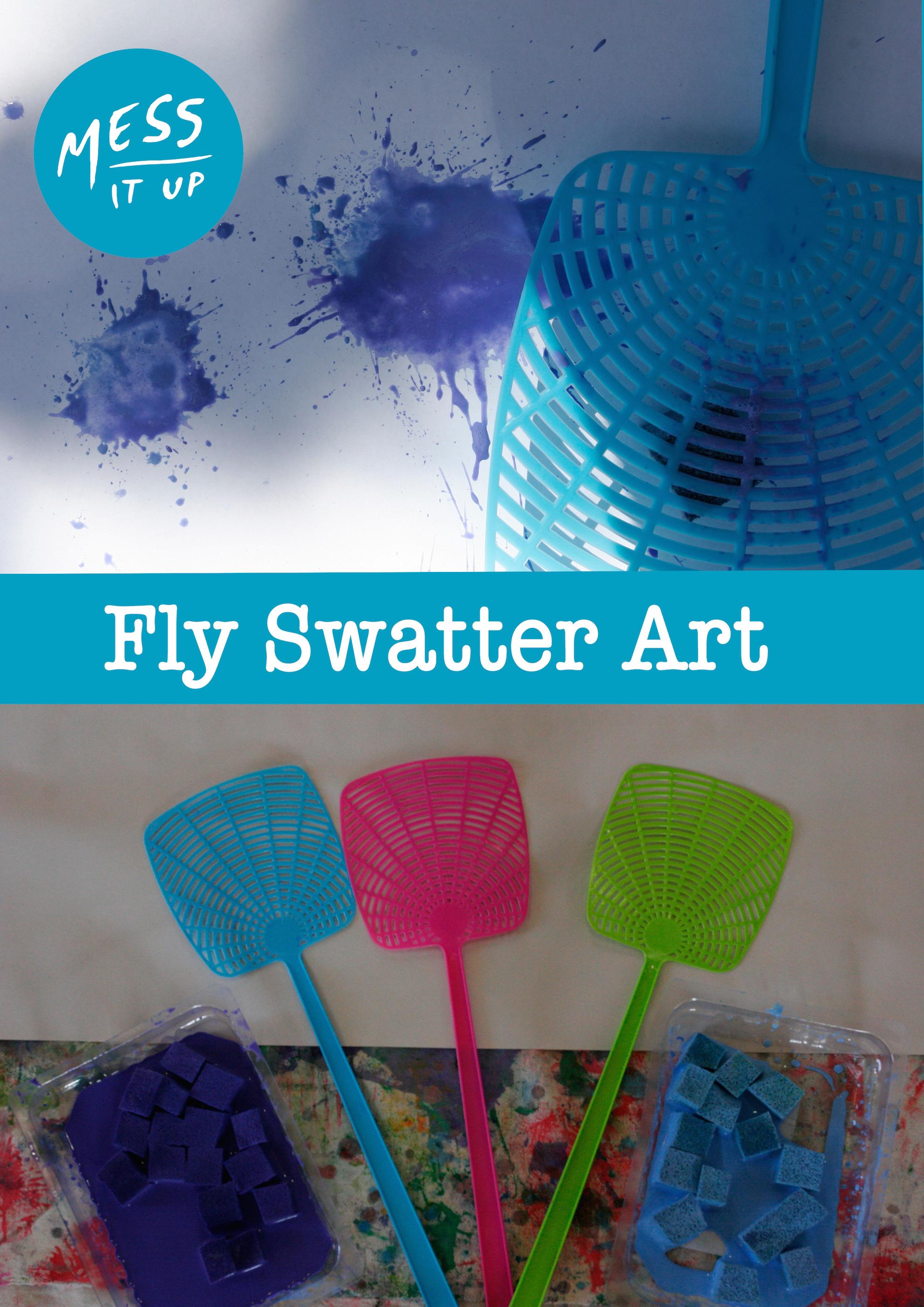 Fly swatter art
