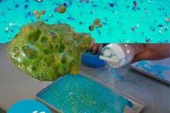 Fizzing slime